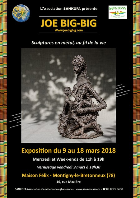 Affiche expo Joe BigBig