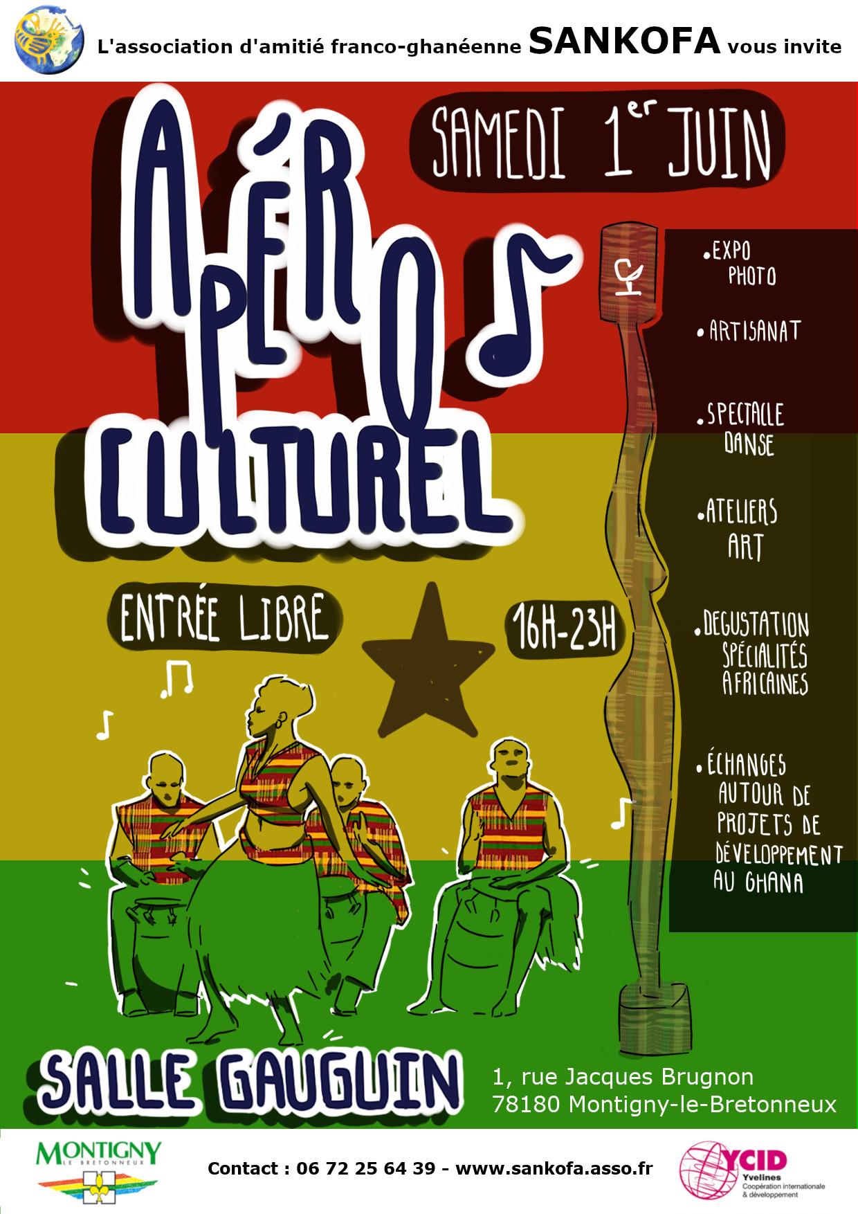 Apéro culturel poster apéro culturel programme