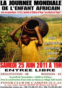 poster of the Day of the african child