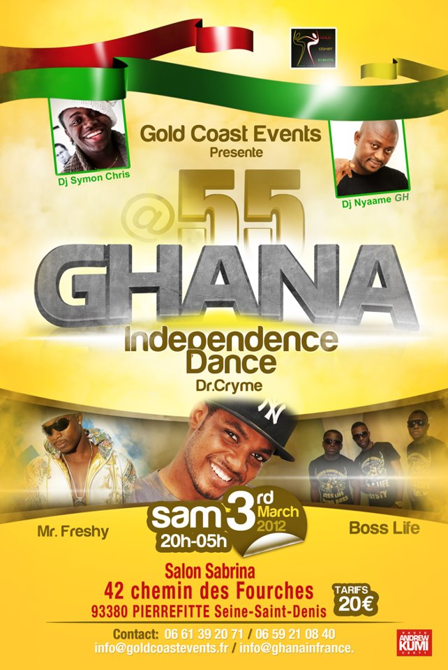 Affiche Ghana Independence Dance