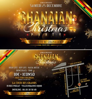 Affiche de la Ghanaian Christmas Party