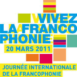 Logo Francophone Day 20th March 2011